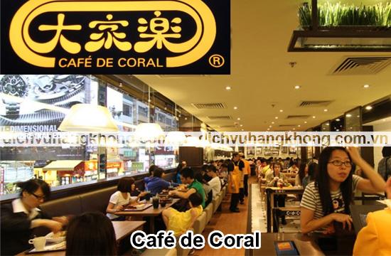 Cafe de Coral Dịch Vụ Hàng Không