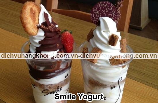 smile yogurt Dịch Vụ Hàng Không