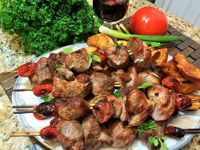 thịt nướng Shashlyk