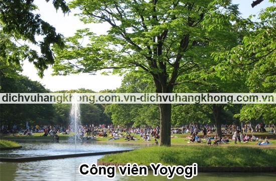 cong-vien-Yoyogi