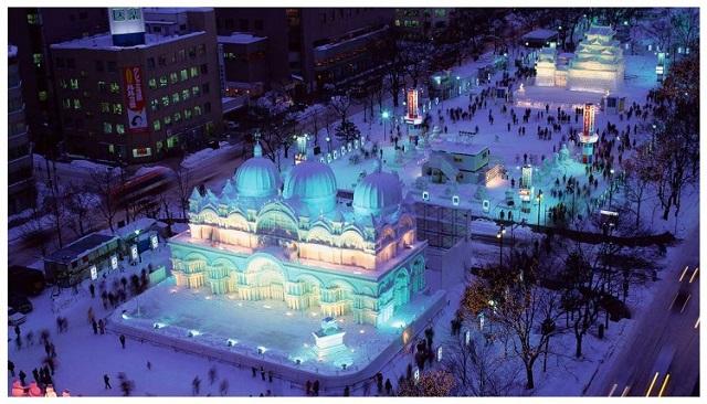 lễ hội tuyết sapporo