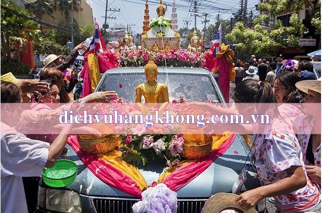 le hoi te nuoc Songkran Dịch Vụ Hàng Không