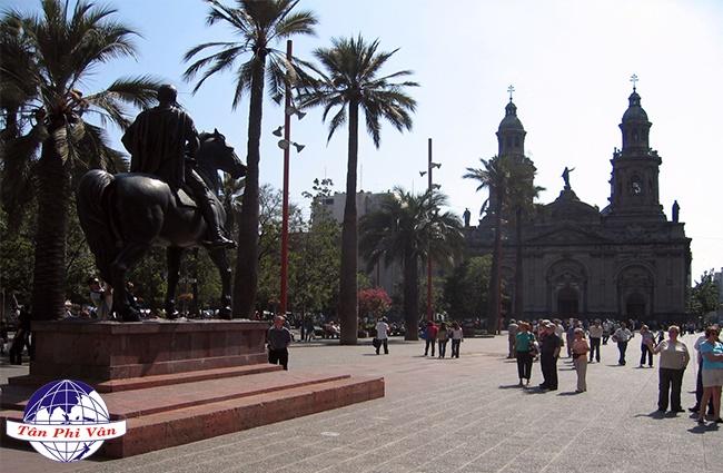 quang truong Plaza de Armas Dịch Vụ Hàng Không