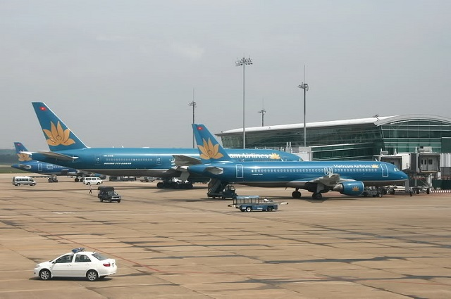 máy bay vietnam airlines