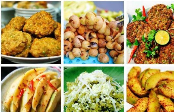 những món ăn hấp dẫn mùa thu