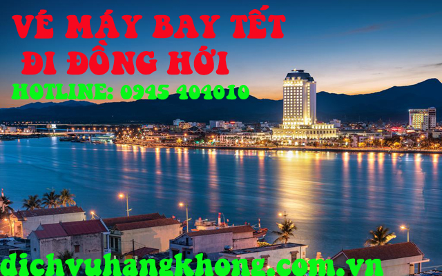 dat ve may bay di dong hoi