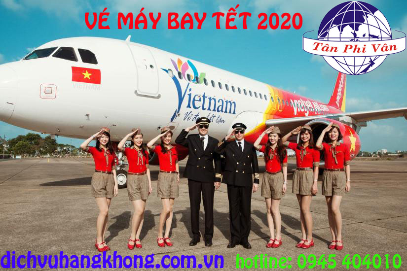 dat ve may bay tet 2020 hang vietjet air