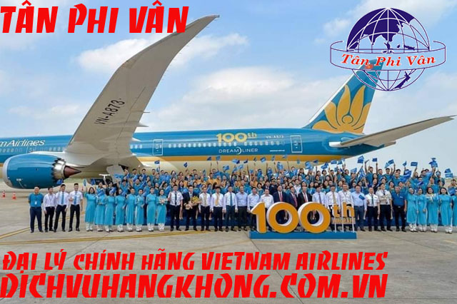 vietnam airlines don may bay thu 100