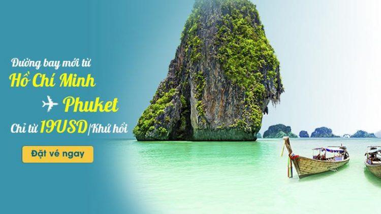 Vietnam Airlines mở đường bay đến phuket