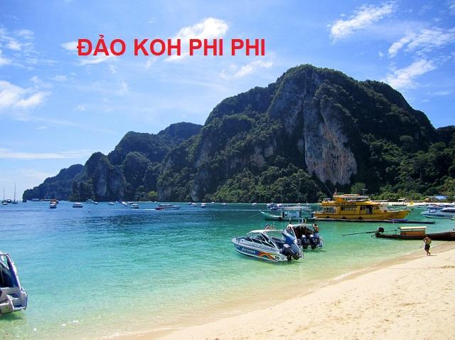đảo koh phi phi thái lan
