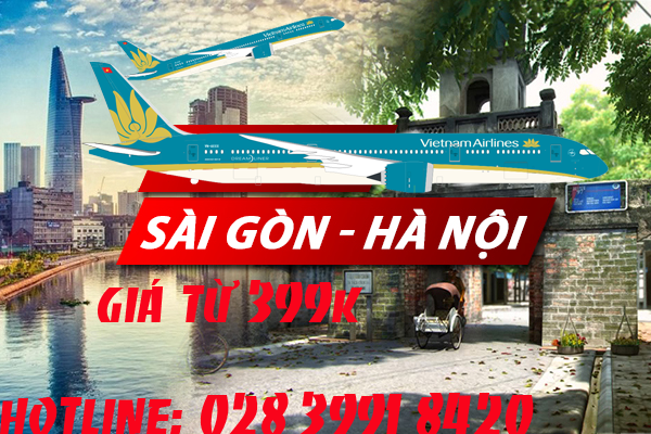 ve may bay sai gon ha noi 399k khu hoi
