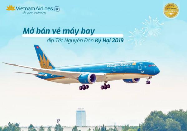 vé máy bay tết vietnam airlines tăng cường
