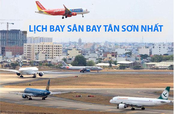 lịch bay sân bay tân sơn nhất