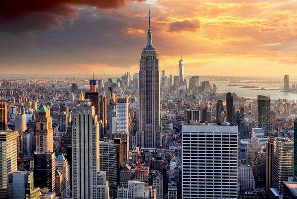thành phố New York các địa điểm ưa thích