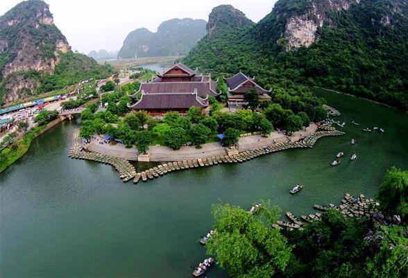 Một cảnh đẹp khác nơi Tràng An.