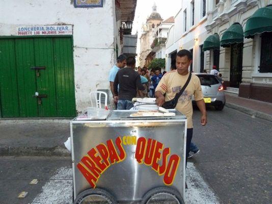 Bánh Arepas con Queso
