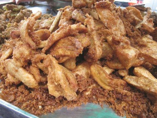 Bánh rán chuối Thái