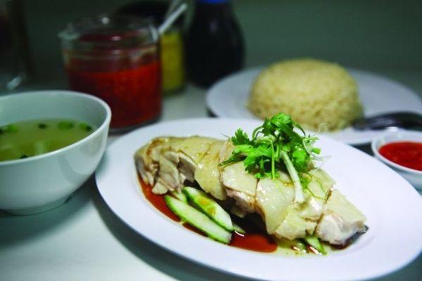 Cơm gà Singapore