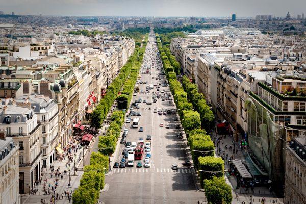 Các đường phố nổi tiếng Thế Giới